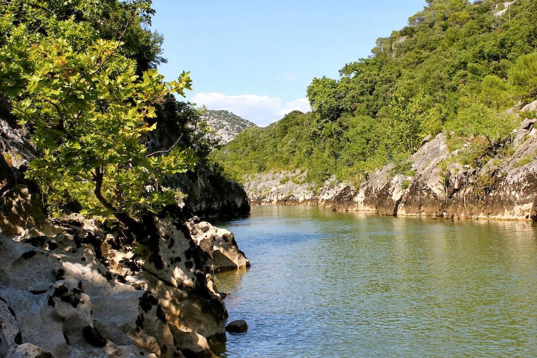 Descente en canoë des Gorges de l'Hérault