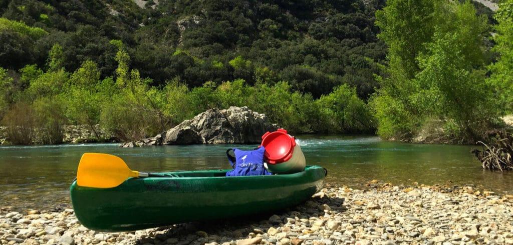 L'Hérault en canoe