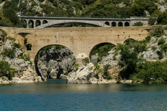 Pont diable gorges herault