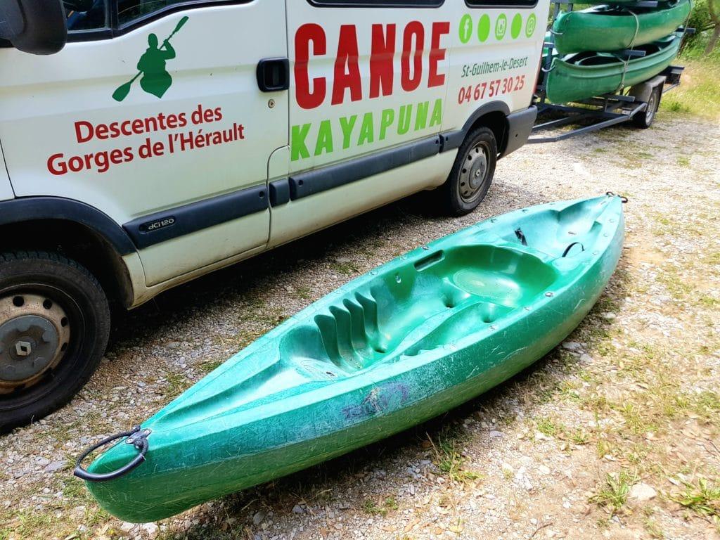 Le canoe Taïki est notre modèle 1 place chez Kayapuna